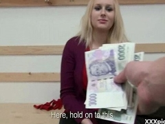 Public Sex For Wealth In Open Street With Teen Czech Bungler Girl 05