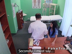Doctor licking and fucking nurse b like with regard to lingerie