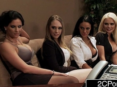Election Fuckfest - Alexis Ford, Angelina Valentine, Kagney Linn Karter, Phoenix Marie
