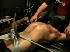 Circumscribe Pleased as Punch Vac-Pumped Jock Wearing Head Gear (BDSM)