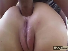 Anna Polina Fetch Ass Going to bed Facial