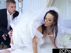 Busty Hungarian Bride-to-be Simony Diamond Fucks Their way Husband'_s Blow rhythm Chap