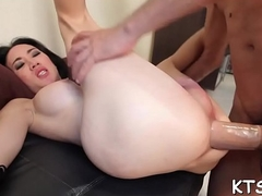 Steely fuck for a excited lady-boy