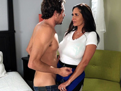 Sexy mom Ava Addams wants a nice young hard cock roughly order with