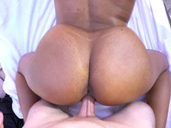 Katt Garcia's big juggs bounce as that babe acquiring doggystyled