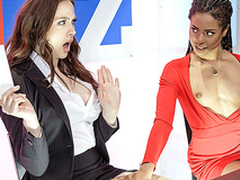 Brazzers HD: Bitchy Take exception with Chanel Preston and Kira Noir