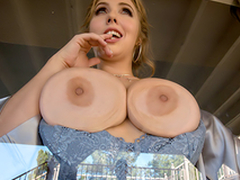 Busty babe Lena Paul In an obstacle porn scene - Avoiding Dicktection