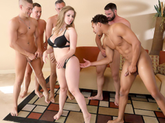Lena Paul In the porn scene - Brazzers House sex in the matter of five