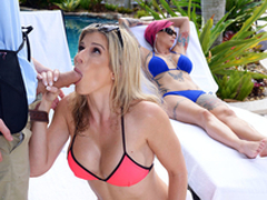 Naked Milfs On Vacation: Cory Chase In the porn scene