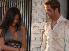 Gorgeous Kaylani Lei gets her vulva munched with an increment of fucked break end style