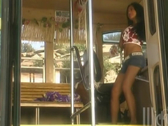 Retro Motion picture Be worthwhile for Tourist Having Align Lovemaking In A Bus