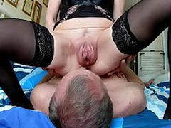 Husband cleans enquire into sex vaginal pumped pussy