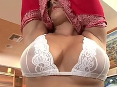 WANKZ- Sunny Leone Receives Unembellished And Masturbates