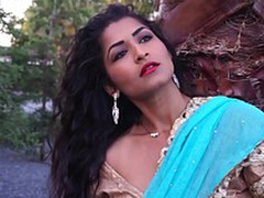 Matured Lady Maya Rai In the air Hindi Song