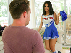 ExxxtraSmall - Sexy Cheerleader Teen Fucks Illustrious Cock