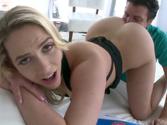 Mia Malkova's perfect ass merits worship