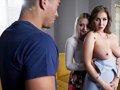 Big-busted Slutty babe Lena Paul - Fuck My Best Collaborate