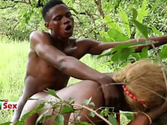African Princess and her Village Lover - Slutty Village Spliced (Trailer)