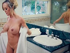 Brazzers - Mommy Got Boobs -  Hands-On Sense of values scene starring Brandi Adore added to Jordi El Niño