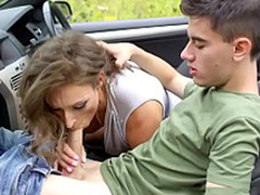Cock-Loving British MILF Ava Austen Is Taking A Road Trip To go to Of Big Weenies