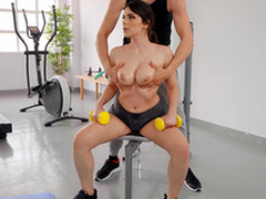 Big Teat Workout with Valentina Nappi and Alberto Blanco - Reality Kings HD