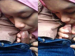 hijab non-specific sucking tiny cock
