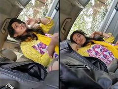 Today Exclusive- Super Hot Put in an appearance Desi Pak Girl Blowjob In Car