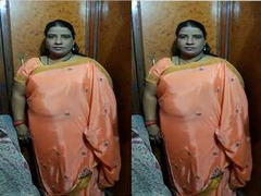Today Exclusive- Desi BBW Randi Bhbahi Strip Will not hear of Saree and Gives Nice Blowjob To Customer