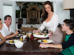 Down in the mouth MILF Kendra Lust With an increment of Jordi El Niño – Kendra's Thanksgiving Stuffing