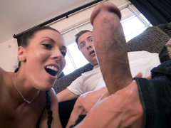 Married guy gives more coupled with lets Rachel Starr suck his XXX seem to be