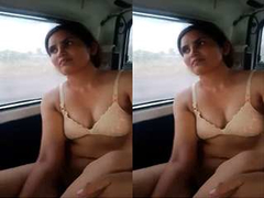 Today Exclusive- Desi Call Girl Screwed Wide Car