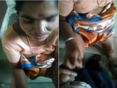 Today Exclusive-Desi Telugu Jail-bait Give Handjob approximately Diggings Owner