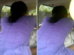 Desi Tamil Girl Ridding Lover Dick Exposed to car