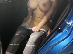 Blindfolded thick milf XXX tie the knot makes me cum with an increment of eats it all