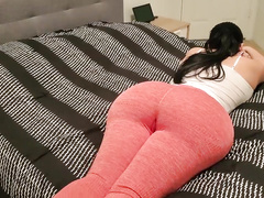 Anon webcam unsighted MILF with erotic thighs was riding massive vibrator unaffected by top
