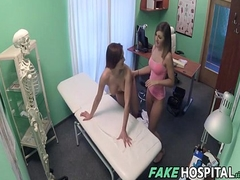 Nurse Enjoys Some Lesbian Snatch - Valerie Fox