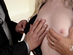 Russian sex addict Lola Taylor DP doll Charm