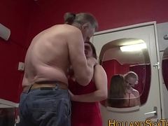 Creampied real hooker